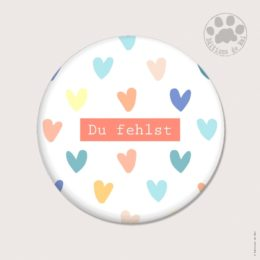AH16 — Claire Hennen — Magnets ronds 5.6 cm English/German