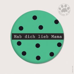 AH21 — Claire Hennen — Magnets ronds 5.6 cm English/German