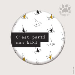 CH11 — Claire Hennen- Cartes à graines, magnets, badges, cartes, — Magnets ronds 5.6 cm