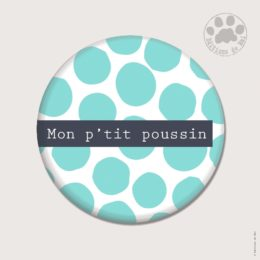 CH25 — Claire Hennen- Cartes à graines, magnets, badges, cartes, — Magnets ronds 5.6 cm