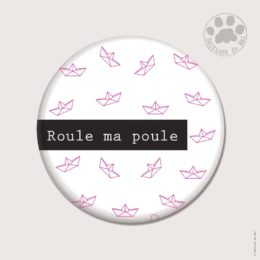 CH29 — Claire Hennen- Cartes à graines, magnets, badges, cartes, — Magnets ronds 5.6 cm