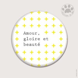 CH46 — Claire Hennen- Cartes à graines, magnets, badges, cartes, — Magnets ronds 5.6 cm
