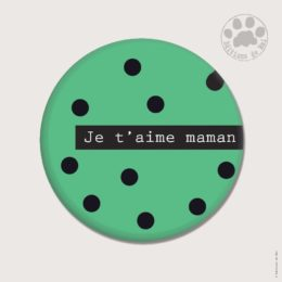 CH47 — Claire Hennen- Cartes à graines, magnets, badges, cartes, — Magnets ronds 5.6 cm