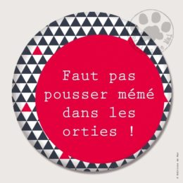 BG02 — Claire Hennen- Cartes à graines, magnets, badges, cartes, — Badges 45 mm