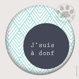 BG04 — Claire Hennen- Cartes à graines, magnets, badges, cartes, — Badges 45 mm