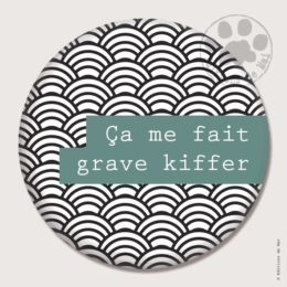 BG14 — Claire Hennen- Cartes à graines, magnets, badges, cartes, — Badges 45 mm