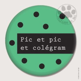 BG17 — Claire Hennen- Cartes à graines, magnets, badges, cartes, — Badges 45 mm