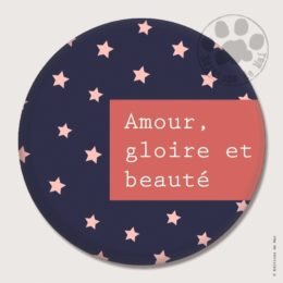 BG19 — Claire Hennen- Cartes à graines, magnets, badges, cartes, — Badges 45 mm