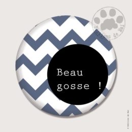 BP10 — Claire Hennen- Cartes à graines, magnets, badges, cartes, — Badges 38 mm