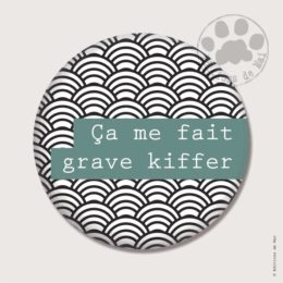 BP14 — Claire Hennen- Cartes à graines, magnets, badges, cartes, — Badges 38 mm