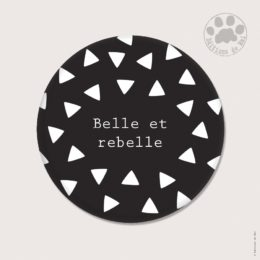 CH52 — Claire Hennen- Cartes à graines, magnets, badges, cartes, — Magnets ronds 5.6 cm