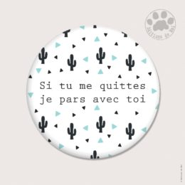 CH54 — Claire Hennen- Cartes à graines, magnets, badges, cartes, — Magnets ronds 5.6 cm