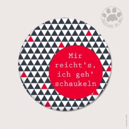 WAH01 — Claire Hennen — Magnets ronds 5.6 cm English/German