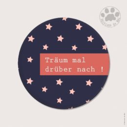 AH02 — Claire Hennen — Magnets ronds 5.6 cm English/German