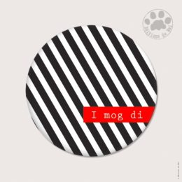 WAH12 — Claire Hennen — Magnets ronds 5.6 cm English/German