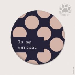 WAH50 — Claire Hennen- Cartes à graines, magnets, badges, cartes, — Magnets ronds 5.6 cm English/German