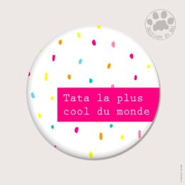 CH63 — Claire Hennen- Cartes à graines, magnets, badges, cartes, — Magnets ronds 5.6 cm