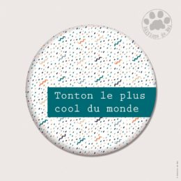CH64 — Claire Hennen- Cartes à graines, magnets, badges, cartes, — Magnets ronds 5.6 cm