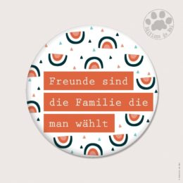 WAH 55 — Claire Hennen — Magnets ronds 5.6 cm English/German